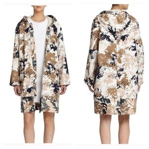 Rag & Bone Natural Randi Camo Cotton Jacket, L